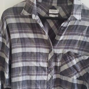 Community flannel shirt